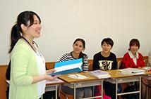 充実の教壇実習(日本語学校インターン)