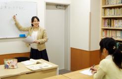 受講生と模擬授業